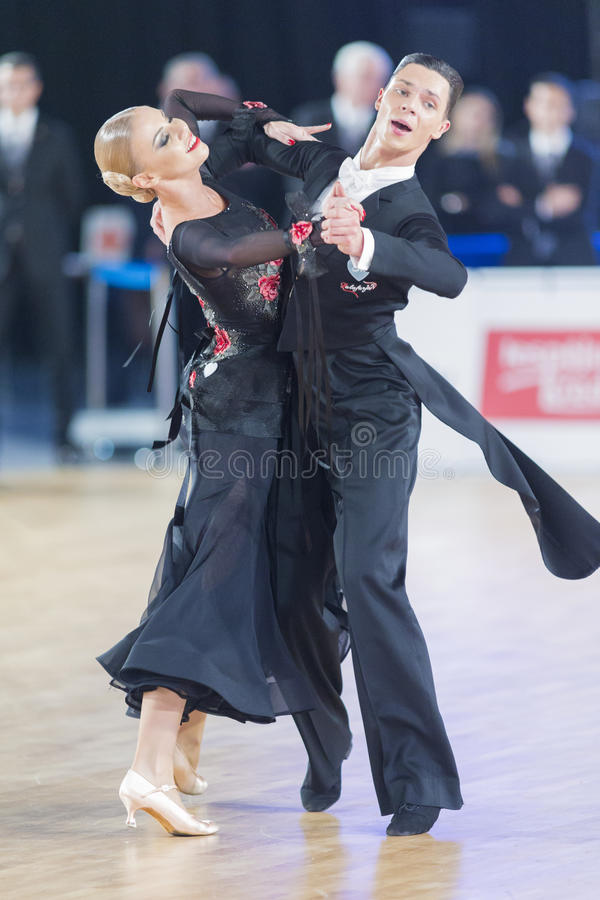 Download Adult Dance Couple Performs Youth Standard European Program On The WDSF Baltic Grand Prix-2106 Championship Editorial Photo - Image of junior, association: 83712786
