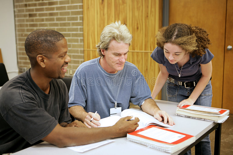 Adult Ed - Diversity royalty free stock photography