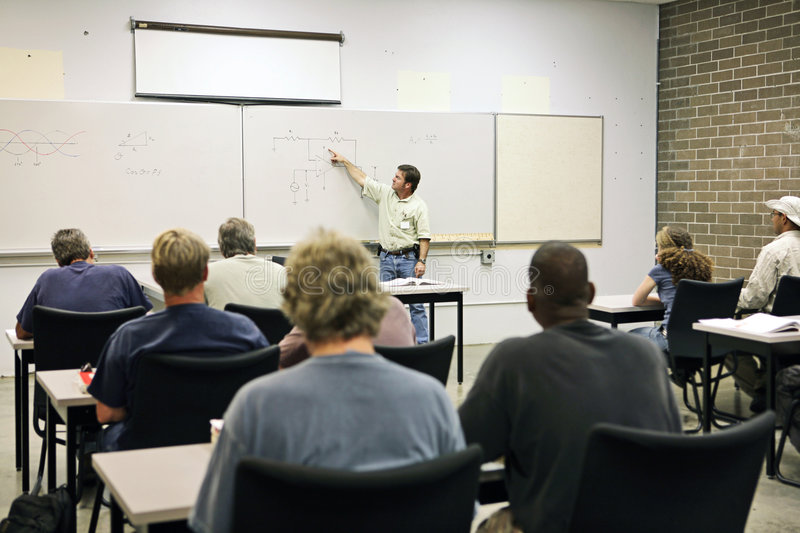 Download Adult Ed - Electricity Stock Images - Image: 2725504