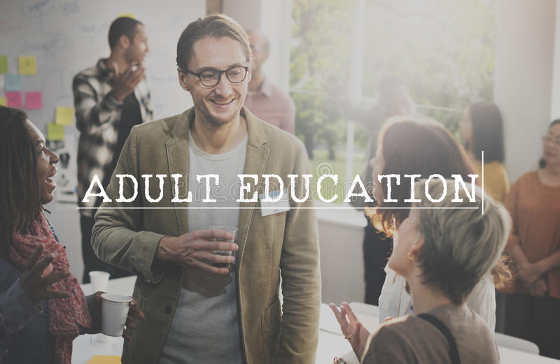 Adult Education Learning Study School Concept royalty free stock images
