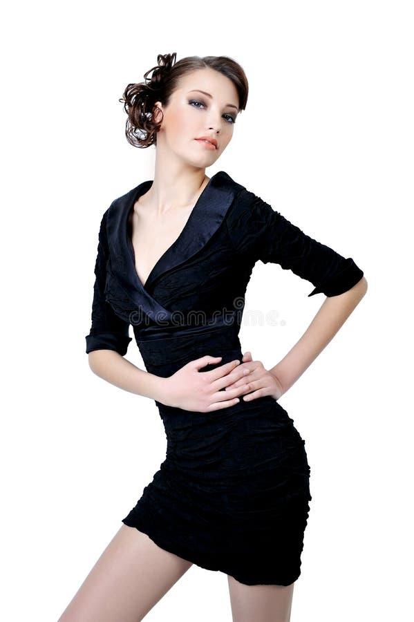 adult girl pose pretty στοκ εικόνα με δικαίωμα ελεύθερης χρήσης