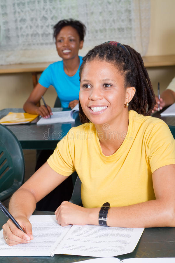 Download Adult learners stock image. Image of attractive, concentrating - 13323901