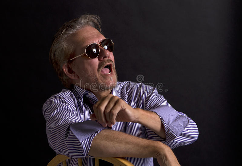 Adult Male Movie Director Stock Photos