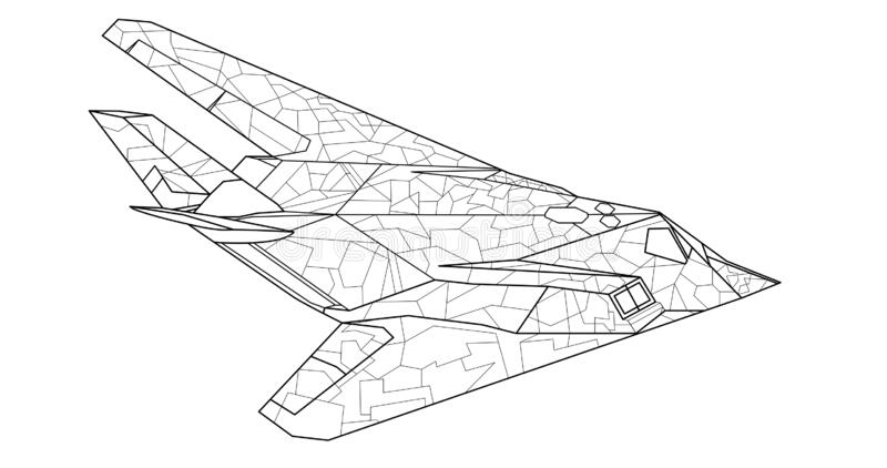 Free Clipart Of A Military Jet - Airplane Printable Coloring Pages ... | 422x800