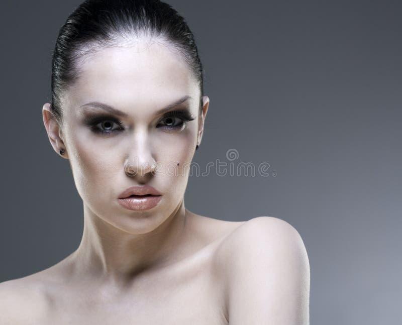 Download Adult Pretty Woman Stylish Portrait. Stock Photo - Image: 13412276