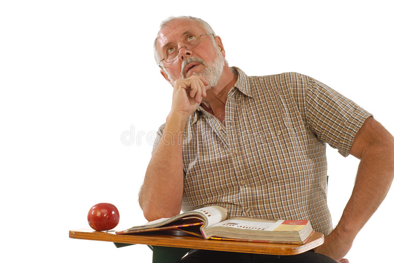 Adult scholar stock images