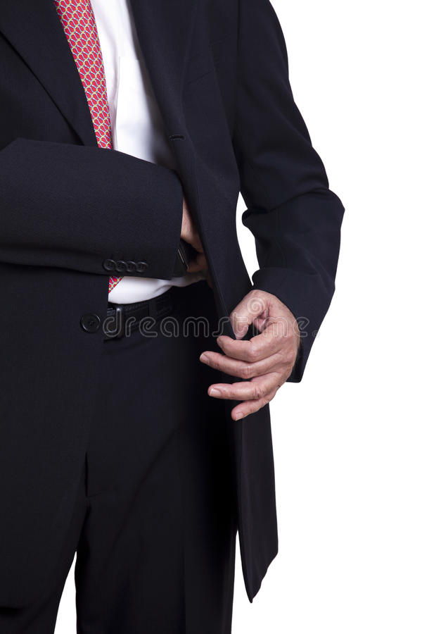 Download Taking Out the Gun stock photo. Image of agent, concealed - 29794928
