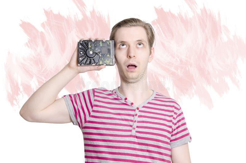 Adulto novo conceito feito lavagem cerebral fotos de stock royalty free