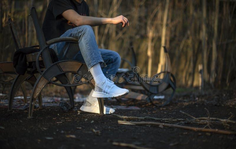 ADV PK di sostegno di attrezzatura di Adidas metà di immagini stock