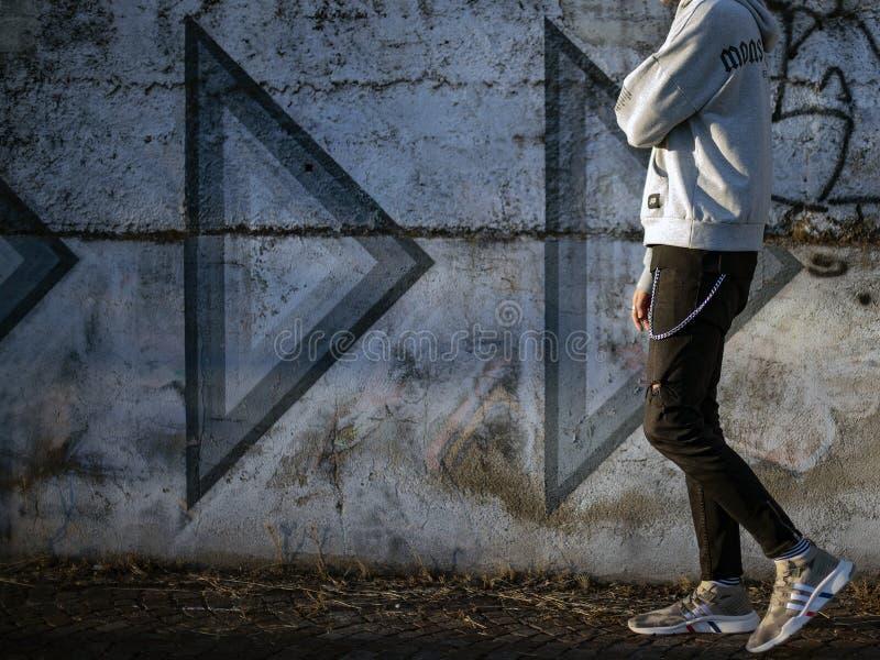 ADV PK di sostegno di attrezzatura di Adidas metà di fotografia stock
