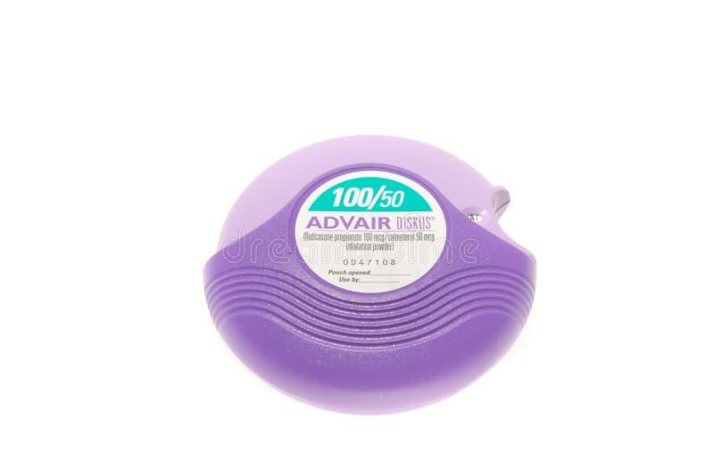 Advair inhaler royalty free stock photos