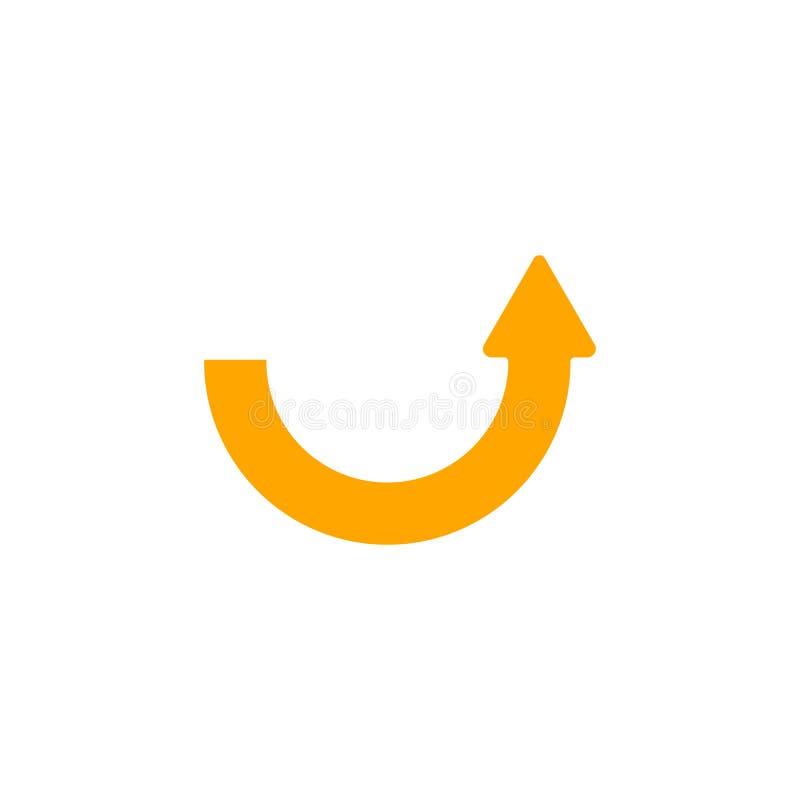Download Advance Arrow stock illustration. Illustration of curve - 5725766