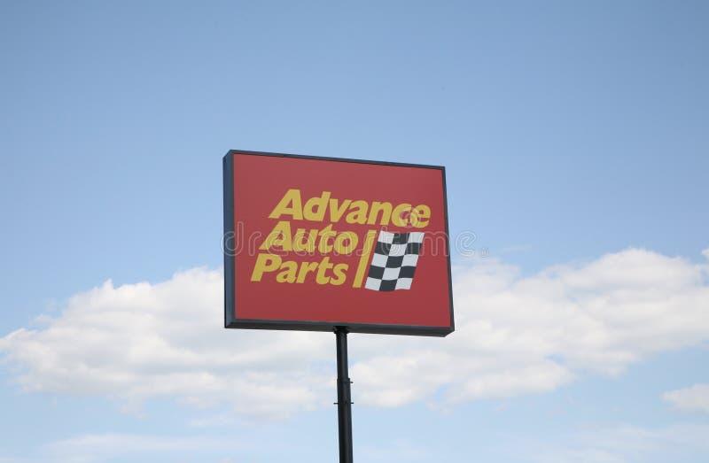 Advance Auto Parts stock photos