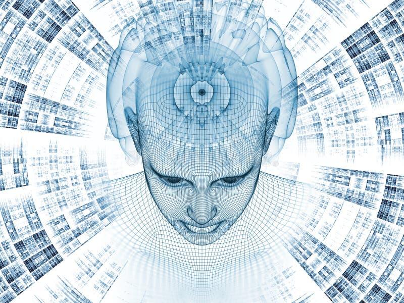 Advance of the Mind stock illustration. Illustration of ...