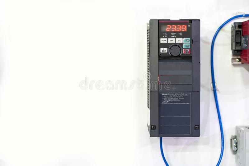 Advance universal automatic inverter for electric current vector or vfd high performance and accuracy control & supply for. Communication remote system stock photography
