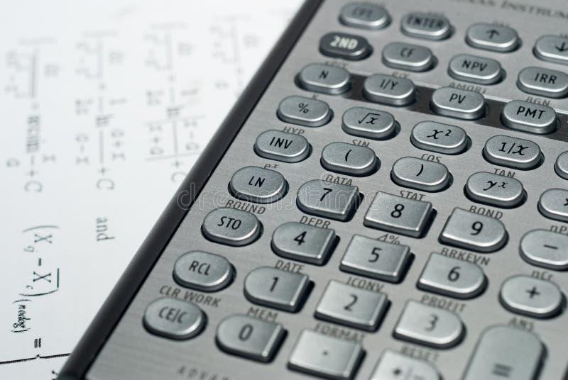 Download Advanced Financial Calculator Stock Image - Image of figure, focus: 9331981