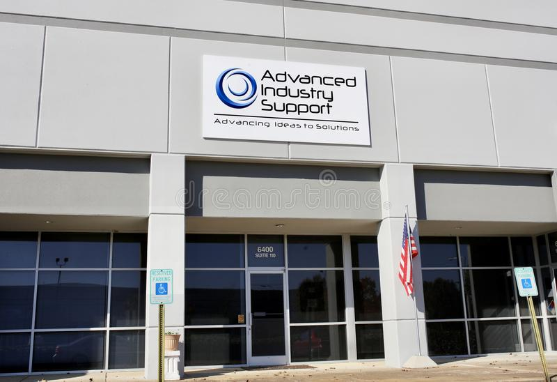 Advanced Industry Support Memphis, Tennessee royalty free stock image
