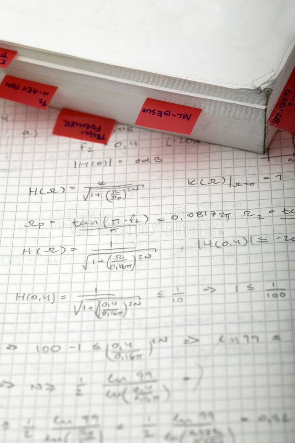 Download Advanced Math And Book stock image. Image of read, integral - 3343097