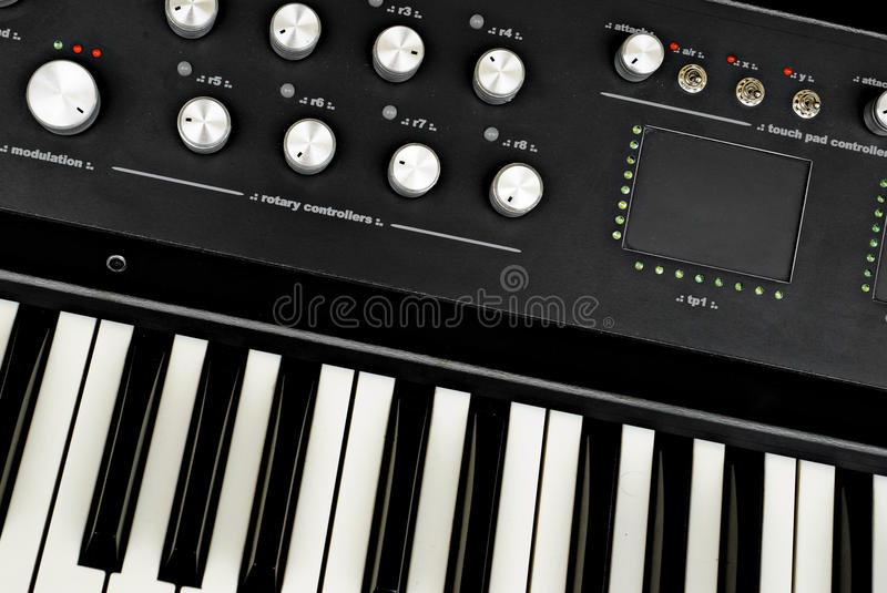 Download Advanced synthesizer stock image. Image of metal, advanced - 14999069