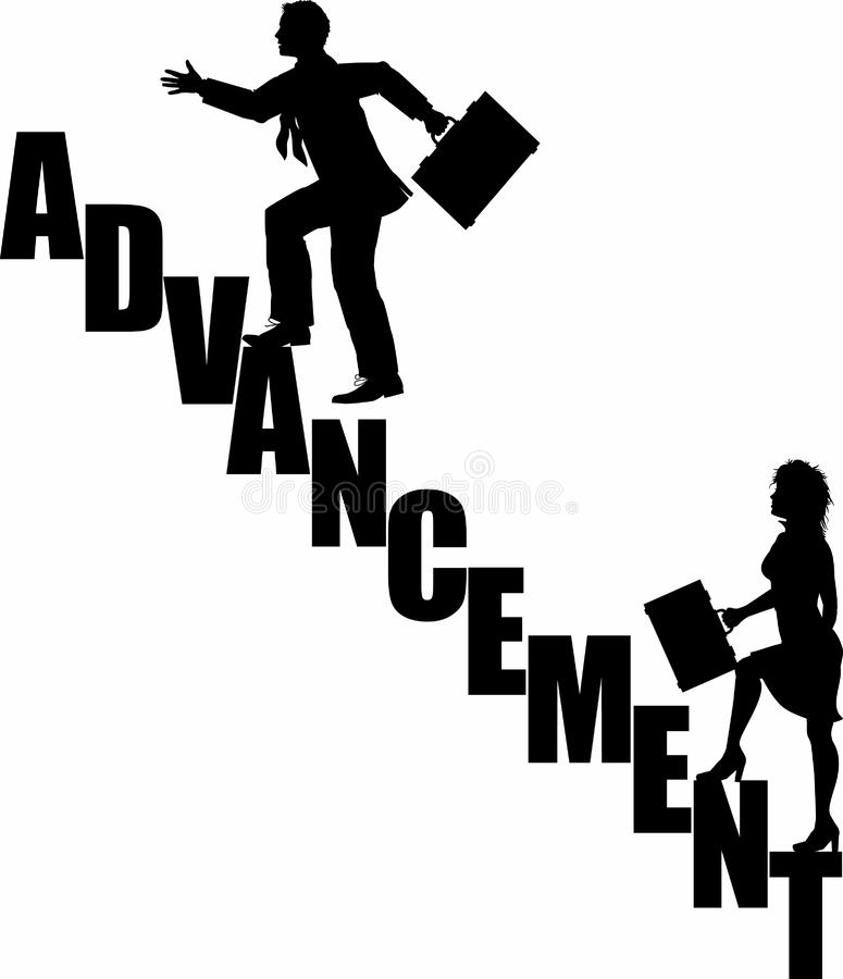Advancement_stairs_4 image stock