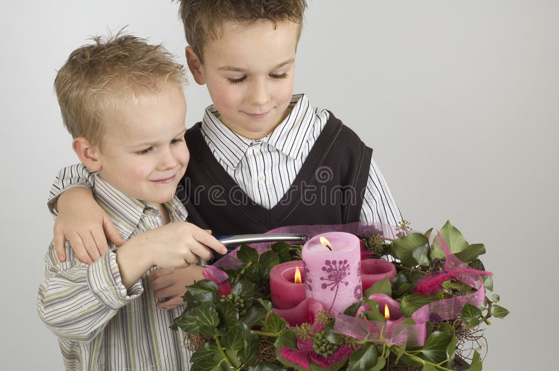 Advent Brothers royalty free stock photo