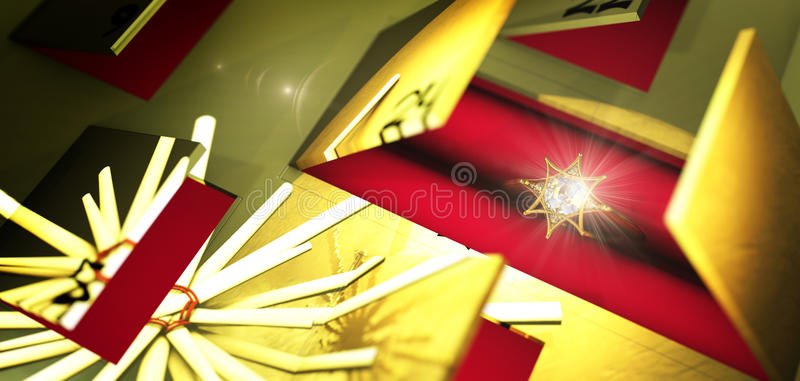 Download Advent Calendar With Shiny Present Stock Illustration - Illustration of ring, rich: 63276321