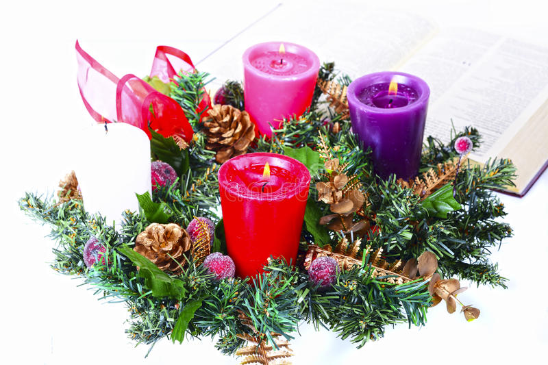 Advent Crown immagine stock