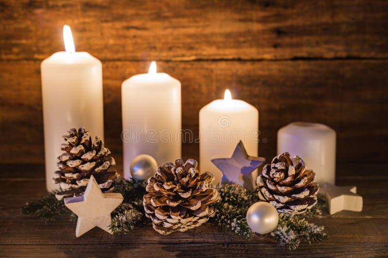 Advent Decoration fotografie stock