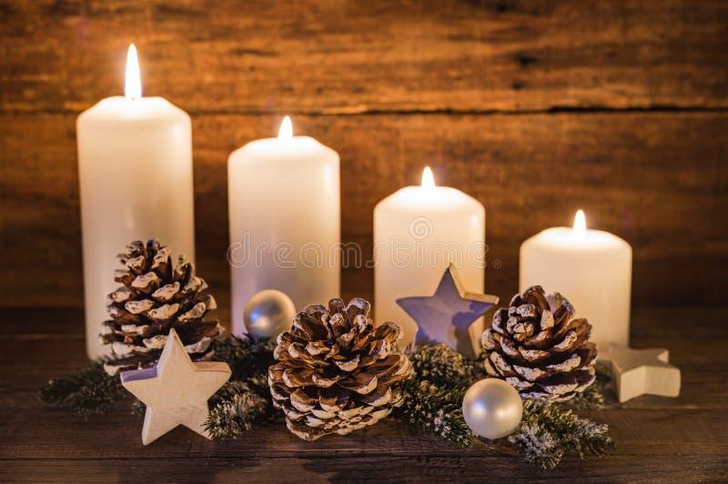 Advent Decoration fotografia stock libera da diritti