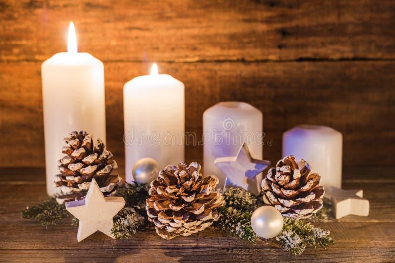 Advent Decoration fotografia stock
