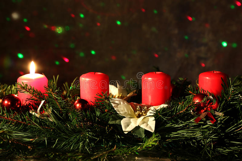 1. Advent. Internationally Holidays / Advent / Advent is a season observed in many Western Christian churches as a time of royalty free stock photos