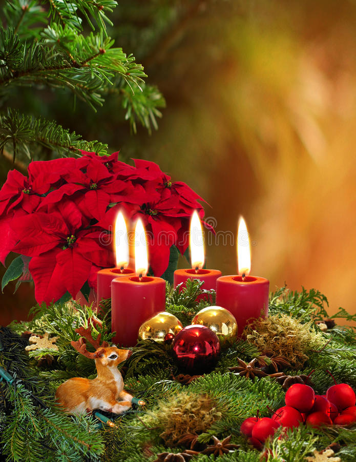 Free Advent Wreath Royalty Free Stock Photography - 16736207