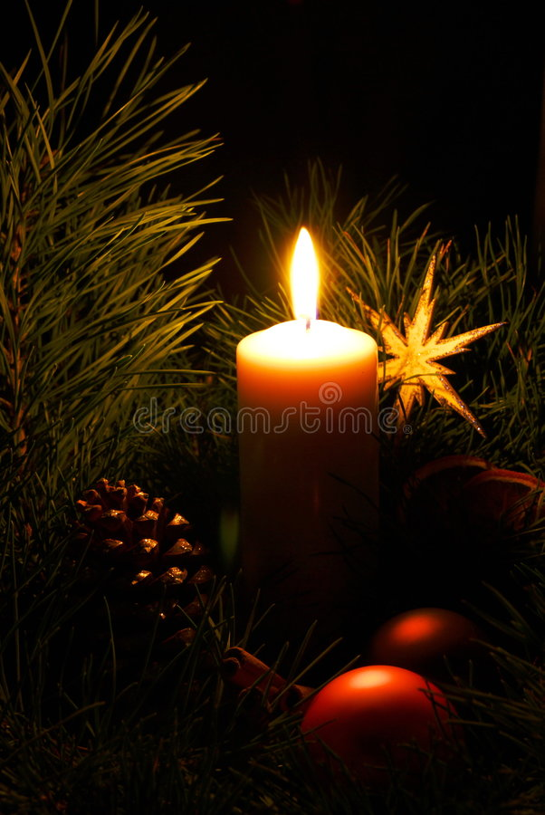 Advent wreath 17 stock images