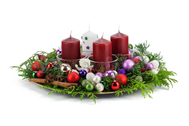 Advent Wreath stock foto