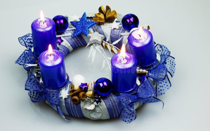Advent Wreath fotos de stock royalty free