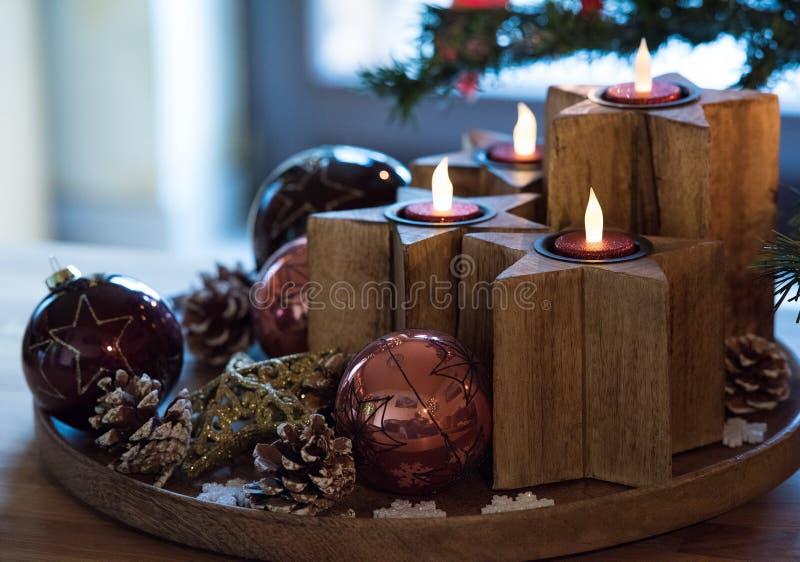 Advent wreath royalty free stock photo