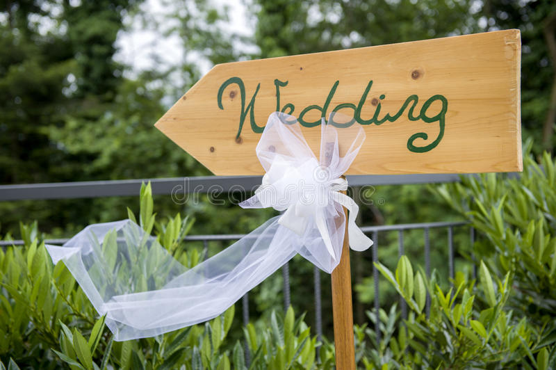 Adventist outdoor wedding. Adventist wedding in the castle of Tercesi stock photo