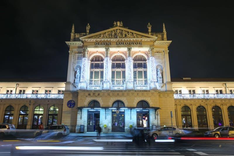 Advento em Zagreb 2017 foto de stock royalty free
