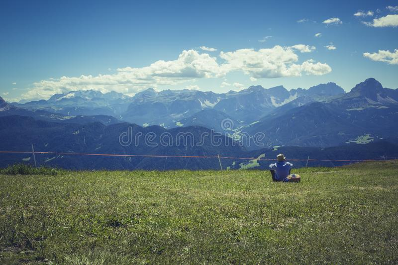 Adventure, Agriculture, Cloudy royalty free stock image