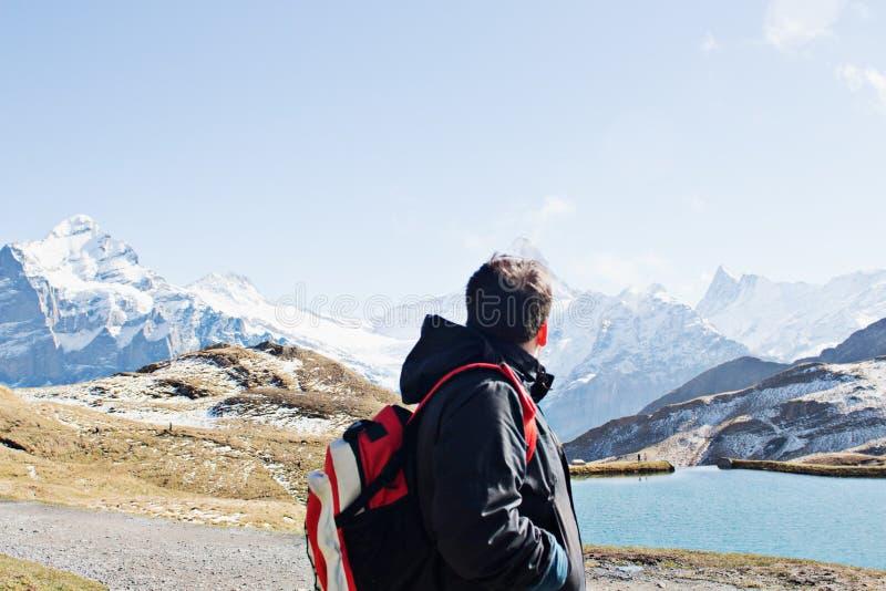 Adventure, Alps, Backpack stock photos