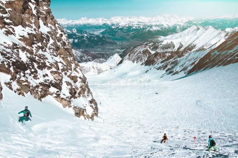 Adventure, Altitude, Cold, Daylight, royalty free stock photo