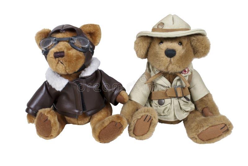Adventure Bears royalty free stock image