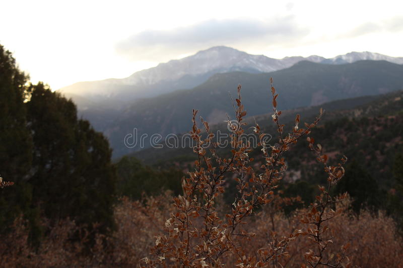 Adventure into the Garden of the Gods royalty free stock photography