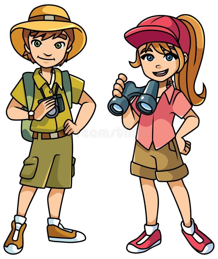Free Adventure Kids Illustration Stock Photos - 125455093