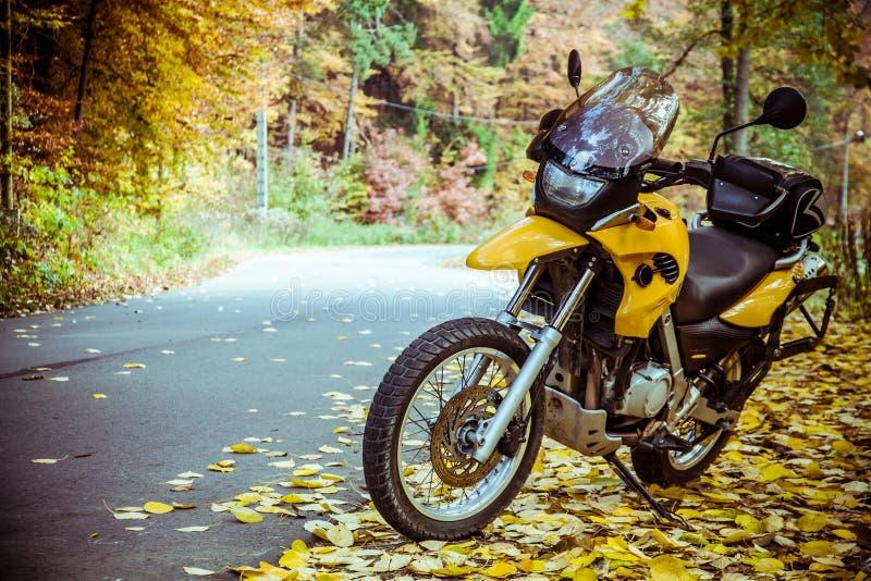Adventure motorbike stock photos