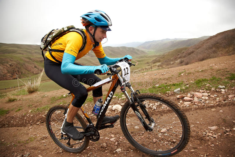 Download Adventure Mountain Bike Competition Editorial Stock Image - Image: 19051914