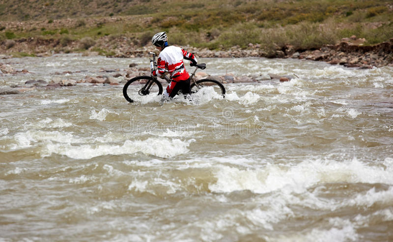 Download Adventure Mountain Bike Competition Editorial Stock Image - Image: 23360619