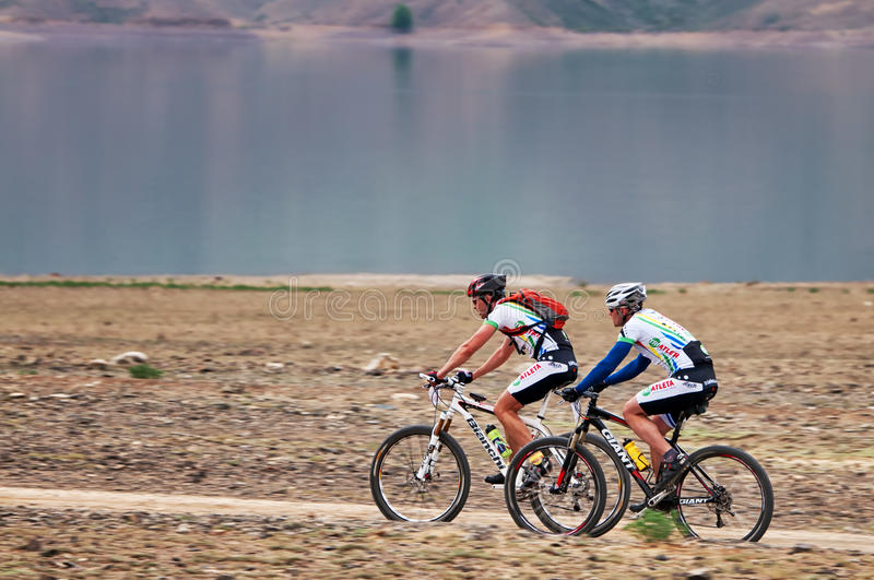 Download Adventure Mountain Bike Competition Editorial Photography - Image: 25086837
