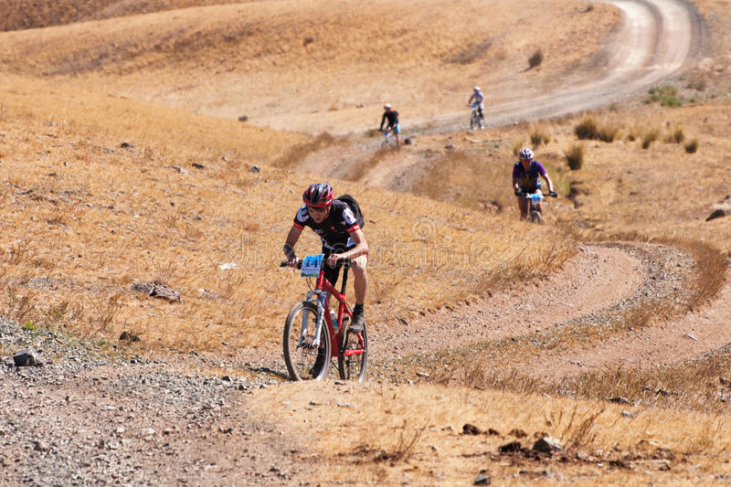 Download Adventure Mountain Bike Marathon Editorial Stock Image - Image of country, race: 26738464