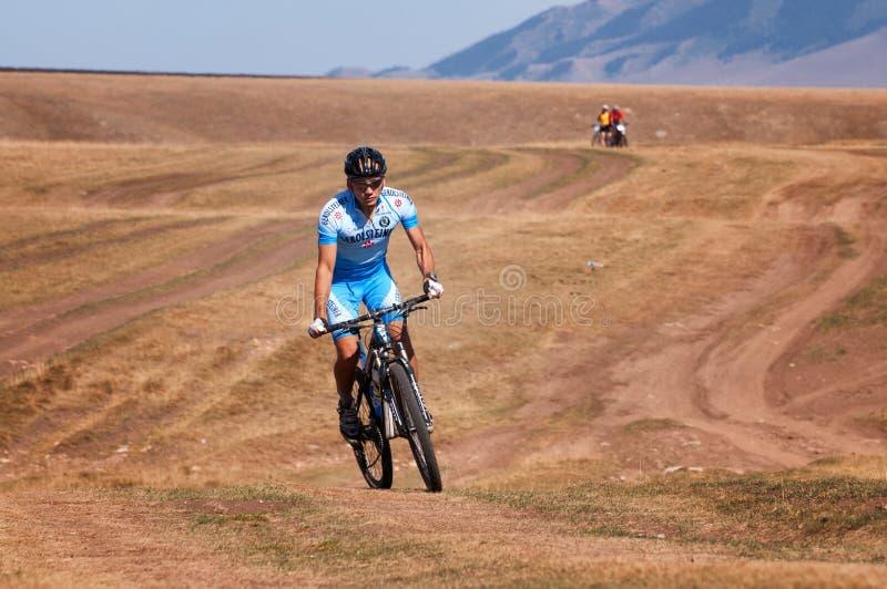 Adventure Mountain Bike Marathon Editorial Stock Image